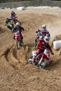 Spanish championship MX Royalty Free Stock Images