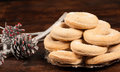 Spanish Christmas bagels Royalty Free Stock Images