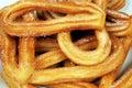 Spanish churros. Royalty Free Stock Photo