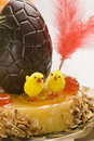 Spanish cuisine. Easter cake. Royalty Free Stock Image