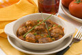 Spanish cuisine. Meatballs in tomato sauce. Royalty Free Stock Images