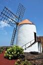 Spanish flour mill Royalty Free Stock Photo