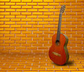 Spanish guitar Stock Photo