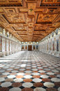 The Spanish Hall in Ambras Castle, Innsbruck, Austria Royalty Free Stock Photo