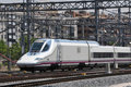 Spanish high speed train Royalty Free Stock Images