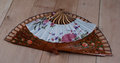 Spanish and Japanese Hand Fans Royalty Free Stock Photo