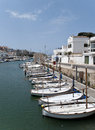 Spanish menorca marina Royalty Free Stock Photography