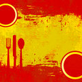 Spanish Menu Royalty Free Stock Images