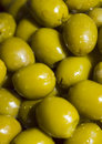 Spanish olives the a macro photo Stock Image