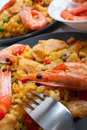 Spanish paella Royalty Free Stock Images