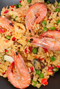 Spanish paella Stock Photo