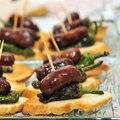 Spanish pinchos Stock Photography