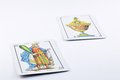 Spanish playing cards Royalty Free Stock Photo