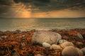 Spanish Point Sunset Royalty Free Stock Photo