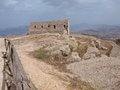 Spanish quarters erice sicily italy the in Royalty Free Stock Photos