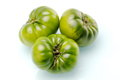 Spanish raf tomatoes green variety of tomato cultivated in the south of spain called Royalty Free Stock Image