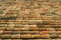 Spanish roof tiles Royalty Free Stock Photo