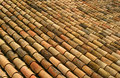 Spanish roof tiles Royalty Free Stock Photos