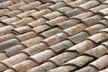 Spanish roof tiles Royalty Free Stock Images