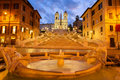 Spanish Steps, Rome, Italy Royalty Free Stock Photo