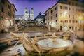 Spanish Steps, Rome - Italy Royalty Free Stock Photo