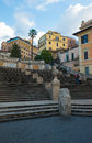 Spanish steps, Rome Royalty Free Stock Photo