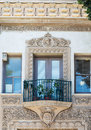 Spanish style architecture Royalty Free Stock Photo