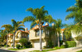 Spanish Style Houses in a Master Planned Community Royalty Free Stock Images