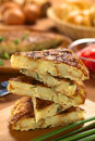 Spanish Tortilla Omelette Royalty Free Stock Photo