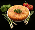 Spanish tortilla potato omelette Royalty Free Stock Images