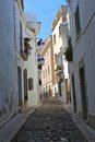 Spanish town of Sitges Royalty Free Stock Image