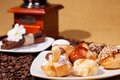 Spanish traditional desserts plate Royalty Free Stock Photo