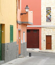 Spanish urban architecture Royalty Free Stock Photo