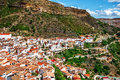 Spanish village Chulilla Royalty Free Stock Photo