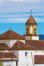 Spanish Village Church Royalty Free Stock Photo