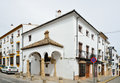 Spanish white town Ronda Royalty Free Stock Photo
