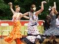 Spanish Women Dancers Royalty Free Stock Image