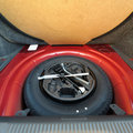 Spare tire (wheel) Royalty Free Stock Photo