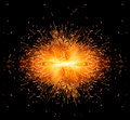 Spark burst! Royalty Free Stock Photo