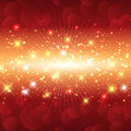 Sparkle christmas background with a sparkly star design Royalty Free Stock Image