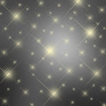 Sparkle gray stars background Royalty Free Stock Photos