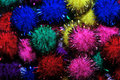 Sparkle pom pom Royalty Free Stock Images