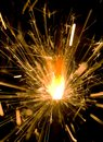 A Sparkler Stock Photography