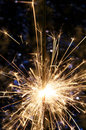 Sparkler Abstract Stock Photo