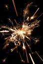 Sparkler closeup Royalty Free Stock Images