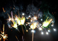 Sparklers Royalty Free Stock Photo