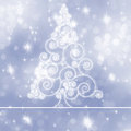 Sparkling bokeh Christmas. EPS 8 Royalty Free Stock Photos
