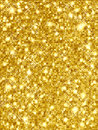 Sparkling Gold Stock Photos