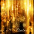 Sparkling lights Christmas card Stock Image