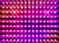 Sparkling red spotlight wall Stock Image